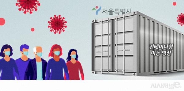 코로나 중환자 '병상부족' 현실화···해결책이 '컨테이너 병상'? - 시사저널e - 온라인 저널리즘의 미래